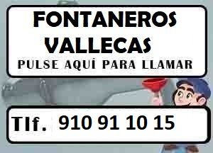 Fontaneros Vallecas Madrid Urgentes