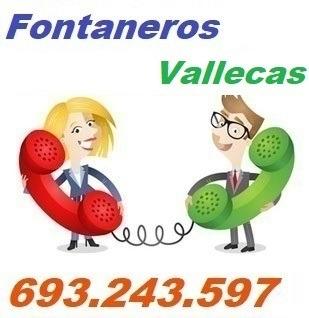 Telefono de la empresa fontaneros Vallecas